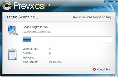 2016 01 21 prevx is a free anti virus software that you can use to check if your system is infected by malicious software like rootkits trojans viruses worms fandeluxe Images