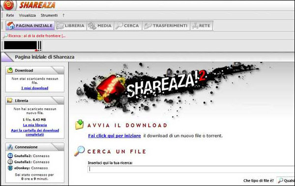 Shareaza P2P