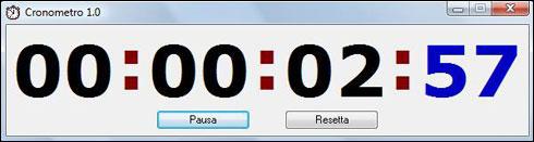 Software Cronometro